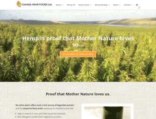 canadahempfoods.com screenshot