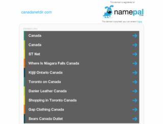 canadanetdir.com screenshot