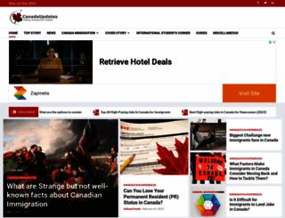 canadaupdates.com screenshot
