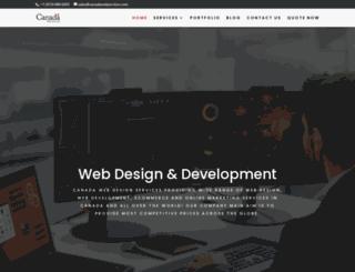 canadawebservices.com screenshot