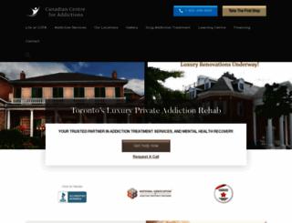 canadiancentreforaddictions.org screenshot