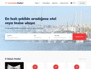 canakkaleotelleri.com screenshot