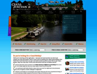 canaljunction.com screenshot