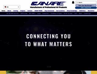 canare.com screenshot