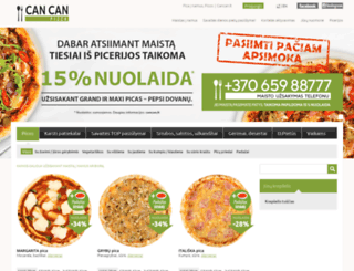 cancan.lt screenshot