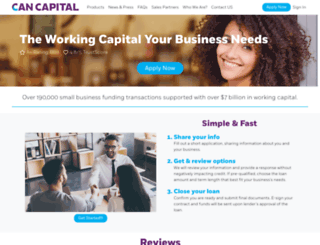 cancapital.com screenshot