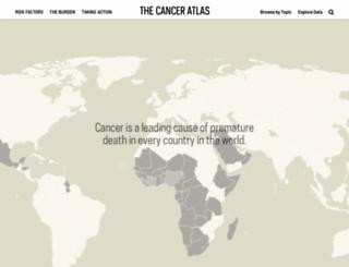 canceratlas.cancer.org screenshot