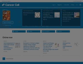 cancercell.org screenshot