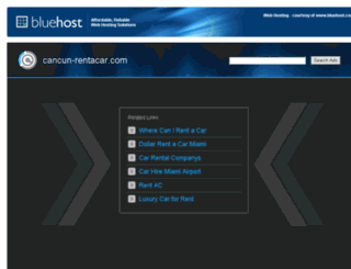 cancun-rentacar.com screenshot