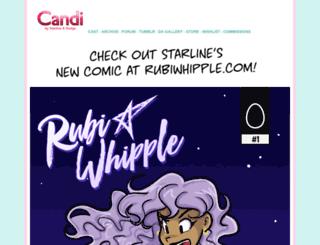 candicomics.com screenshot