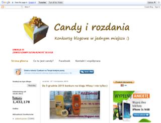 candy-i-rozdania.blogspot.com screenshot