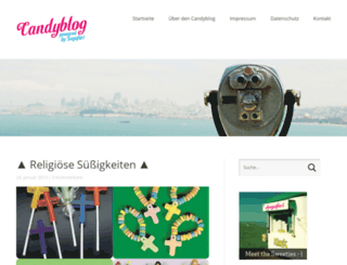 candyblog.de screenshot