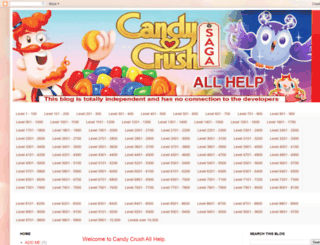 candycrushsagaallhelp.blogspot.ie screenshot