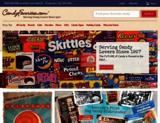 candyfavorites.com screenshot