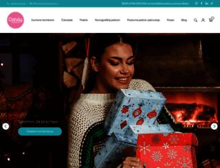 candyuniverse.rs screenshot
