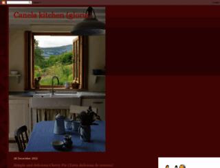canelakitchen.blogspot.com screenshot