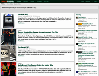 canesinsight.com screenshot
