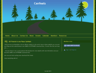 canfeats.webs.com screenshot