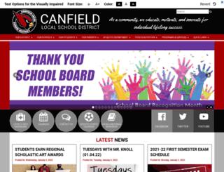 canfield.access-k12.org screenshot