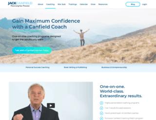 canfieldcoaching.com screenshot