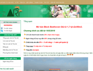 canho-theart.vn screenshot
