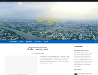 canhodatnengiare.com screenshot