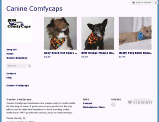 caninecomfycaps.storenvy.com screenshot