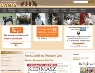 canis.org.pl screenshot