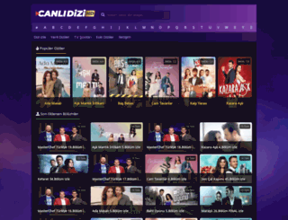 canlidizihdtv.com screenshot