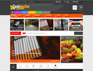 canlidostlar.com screenshot