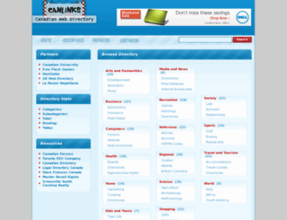 canlinks.ca screenshot
