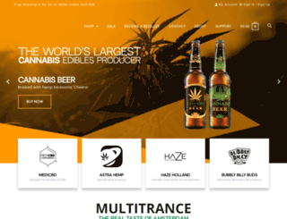 cannabis-food.com screenshot