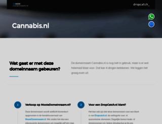 cannabis.nl screenshot