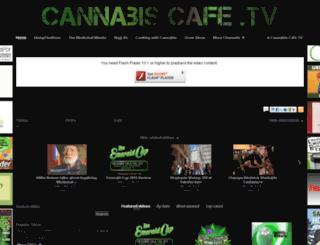 cannabiscafe.tv screenshot