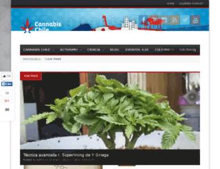 cannabischile.cl screenshot