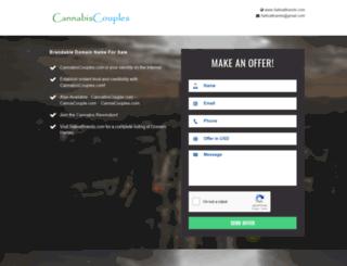 cannabiscouples.com screenshot