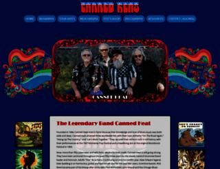 cannedheatmusic.com screenshot