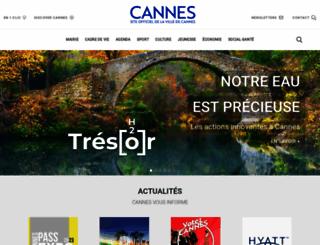 cannes.com screenshot