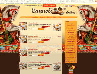 cannoliclick.com screenshot