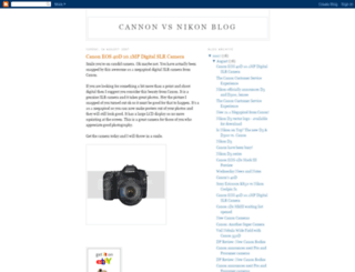 cannon-vs-nikon.blogspot.com screenshot