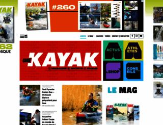 canoe-kayak-mag.fr screenshot