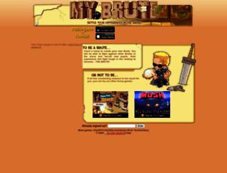 canonhp.mybrute.com screenshot