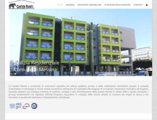 cantieririuniti.com screenshot