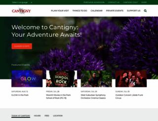 cantigny.org screenshot