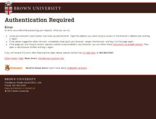 canvas.brown.edu screenshot