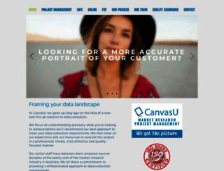 canvasu.com.au screenshot