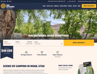 canyonlandsrv.com screenshot