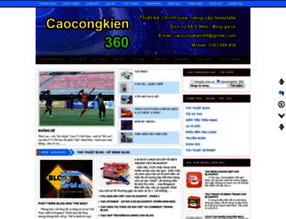 caocongkien.blogspot.com screenshot