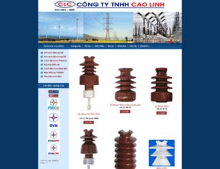 caolinh.com screenshot