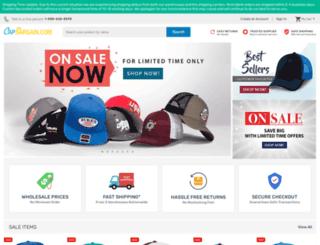 capbargain.com screenshot